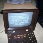 A hacked Minitel terminal loads TTYtter (believekevin/Flickr)